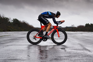<h1>Weight</h1><i>The consequence of the fanatical attention to detail is an outstandingly light 1770g (82/82) wheelset weight in a lightning fast stiff aero package. We've enjoyed free wheeling in the pack whilst all others are pedalling, is it cheating?</i>