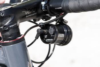 <h1>Exposure Revo Dynamo Light On Bike Rear</h1>