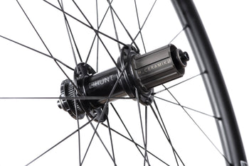 <h1>Freehub Body</h1><i>Durability is a theme for Hunt as time and money you spend fixing is time and money you cannot spend riding or upgrading your bikes. As a result, we've developed the H_CERAMIK coating to provide excellent durability and protect against cassette sprocket damage often seen on standard alloy freehub bodies.</i>
