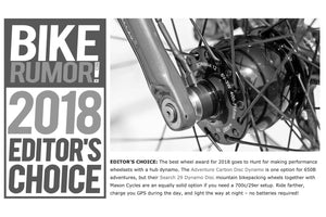 Bikerumor Editor's Choice Award 2018