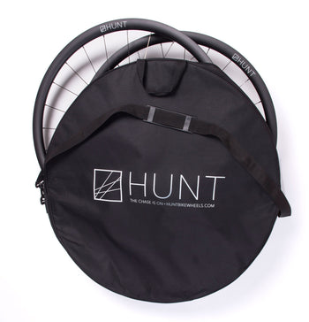 <h1>HUNT Race Season Padded Double Bicycle Wheel Bag</h1>