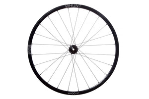 <h1>Rims</h1><i>HFR+ strong and lightweight 6061-T6 heat-treated rim, featuring an asymmetric shape, inverted from front to rear to provide balanced higher spoke tensions meaning your spokes stay tight for the long term. The rim profile is disc specific which allows higher-strength to weight as no reinforcement is required for a braking surface. The extra wide rim at 24mm (19mm internal) which creates a great tire profile with wider 25-50mm tires, giving excellent grip and lower rolling resistance.</i>