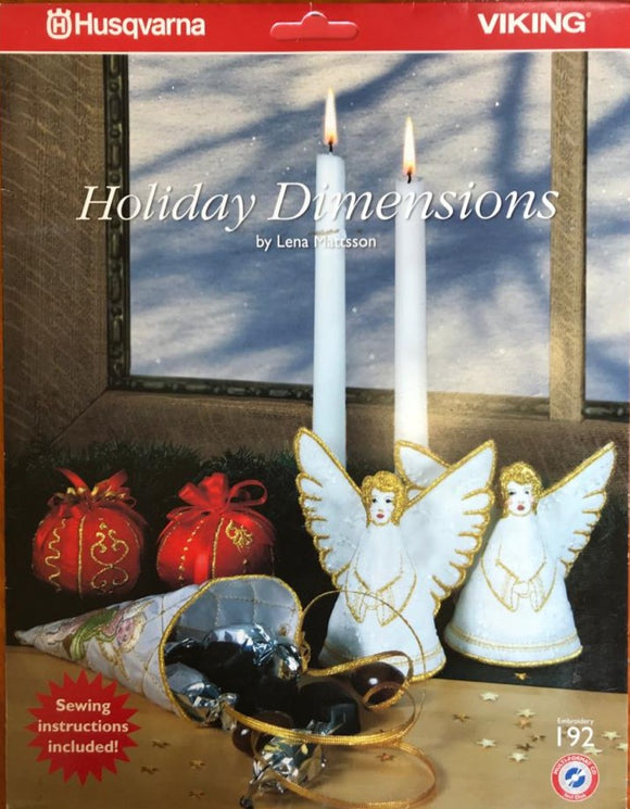 Husqvarna Viking EMBROIDERY CARD 192 Holiday Dimensions