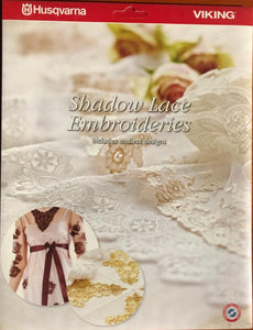 Husqvarna Viking EMBROIDERY CARD 246 Shadow Lace Embroideries