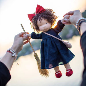 Handmade Waldorf Doll With Big Set Of Clothes