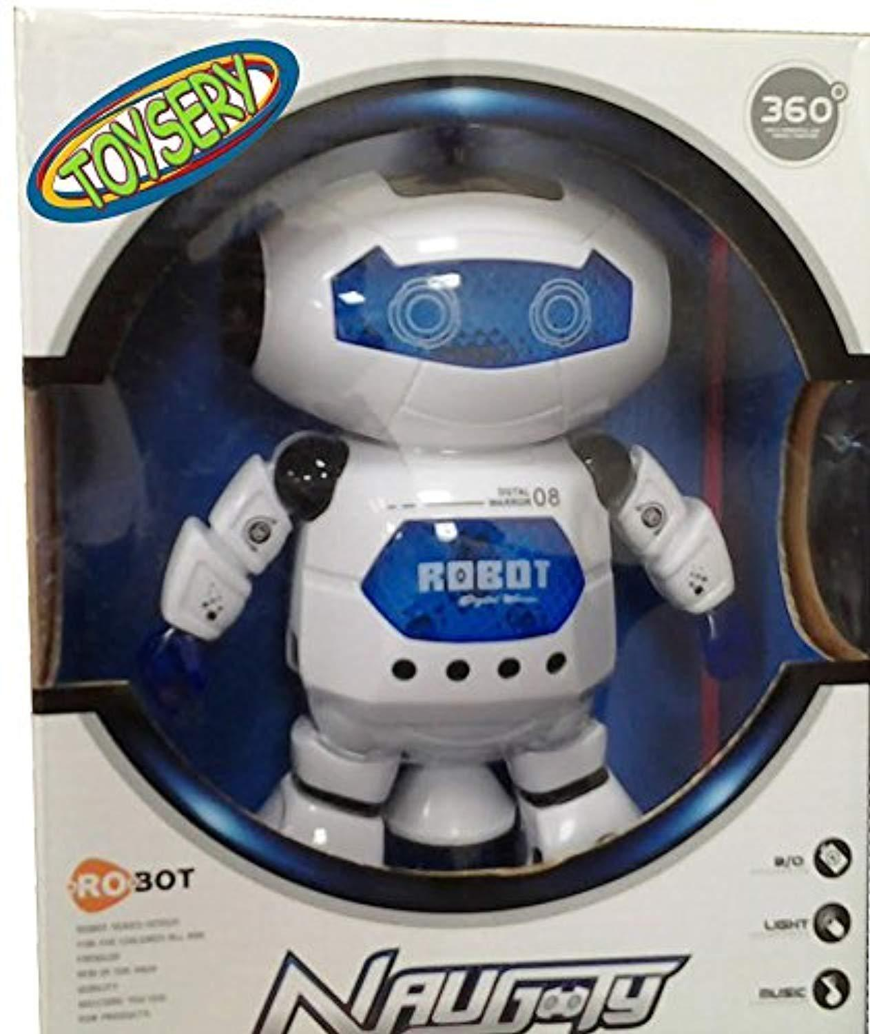 Electronic Walking Dancing Robot Toys for Kids