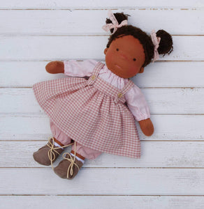 Custom Order Waldorf Doll With Big Set Of Clothes And Accessories(PRE ORDER.NEXT SHIPPING DAY 7 DAYS)