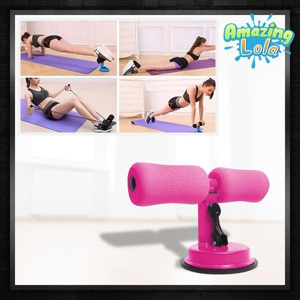 FitnessPro Floor Suction Workout Bar