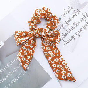 Bow Streamers Hair Ring Fashion Ribbon- BUY TWO FREE SHIPPING