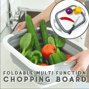 Eco-Friendly 3 in 1 Multifunctional Foldable Cutting Board, Washing Bowl & Draining Basket