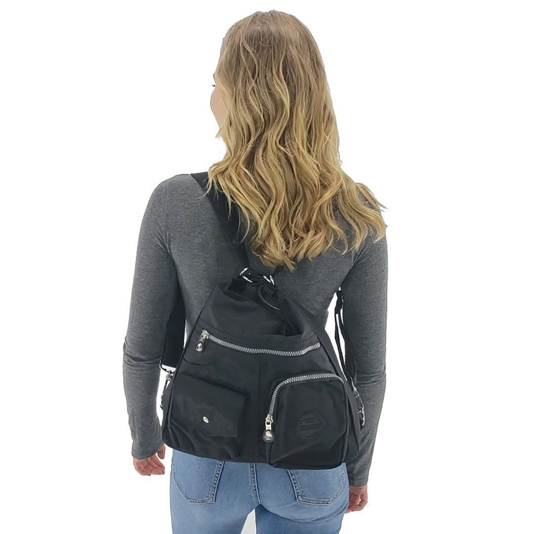 Convertible Shoulder Bag With Extra Large Capacity