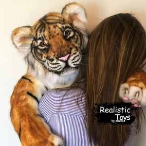 Realistic Young Tiger Ruby