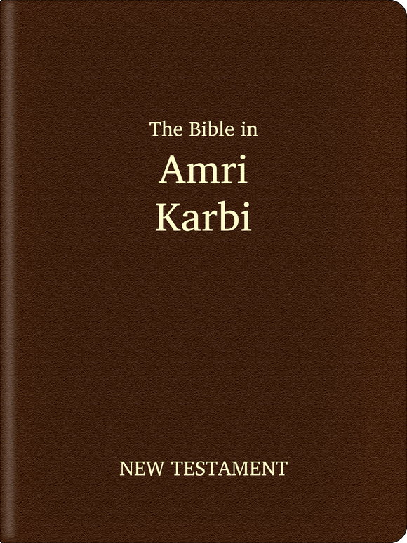 Amri Karbi Bible - New Testament