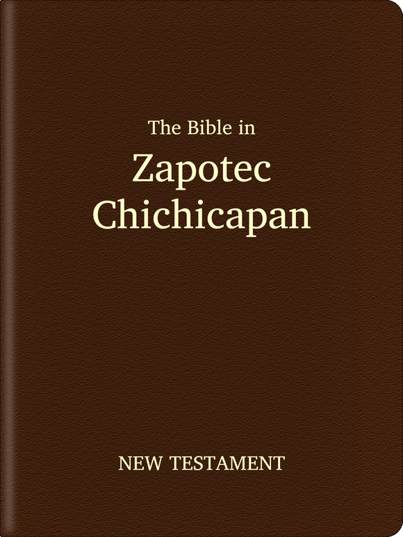 Zapotec, Chichicapan Bible - New Testament