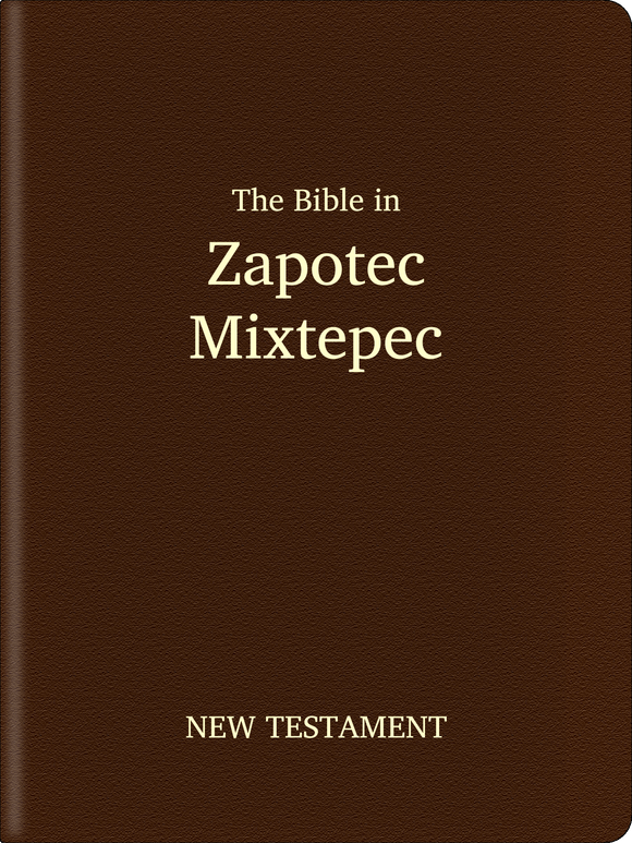 Zapotec, Mixtepec Bible - New Testament