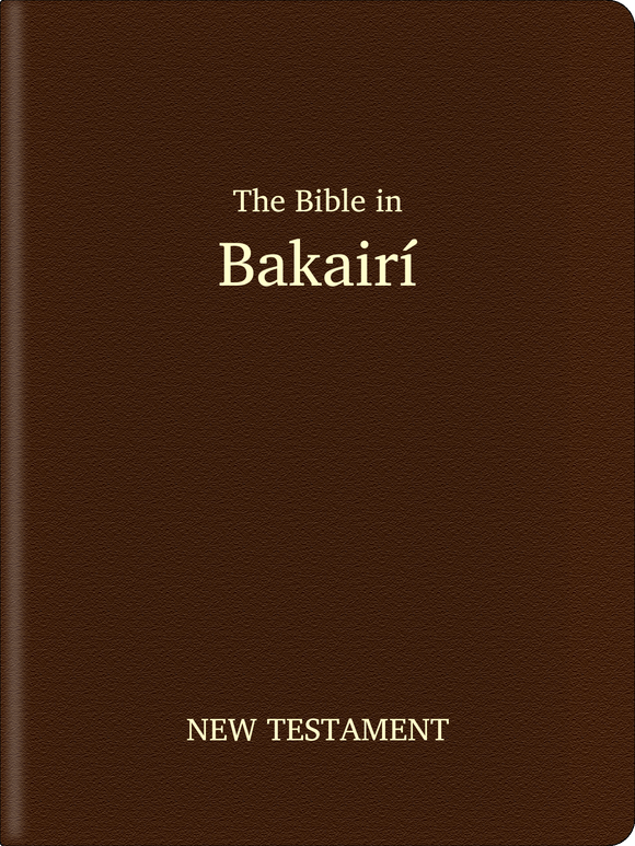 Bakairí Bible - New Testament