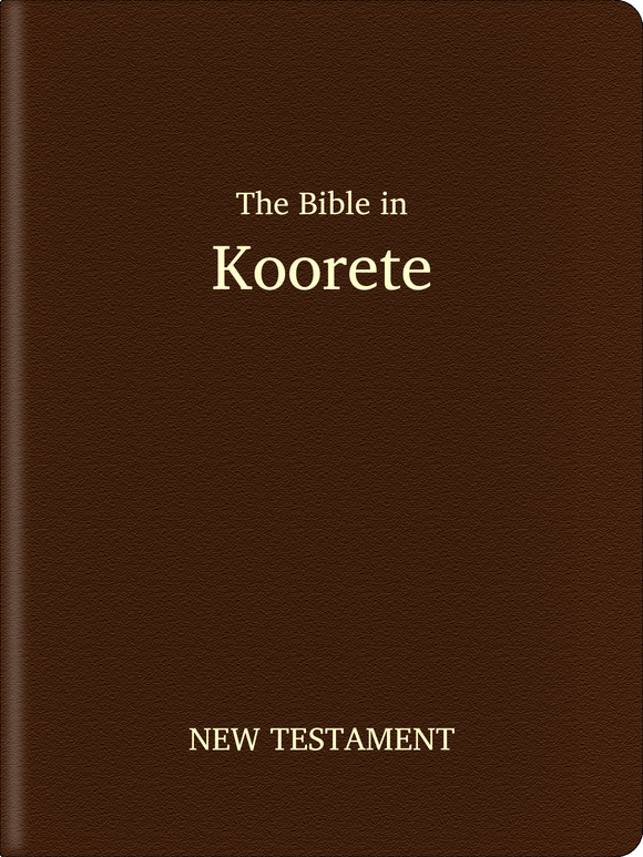 Koorete Bible - New Testament