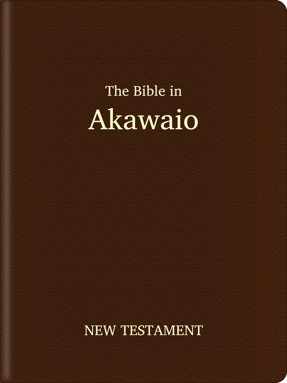 Akawaio Bible - New Testament