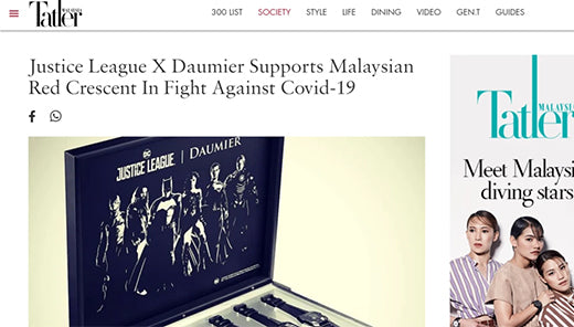 The Good New Heroes-Daumier by Tatler Malaysia