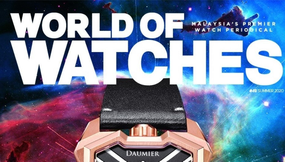 From Silver Screen To Wrist - by World of Watches (WOW) Malaysia