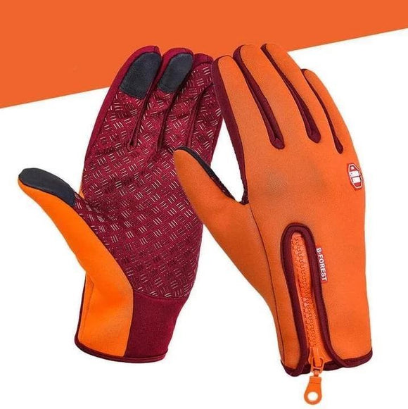 Winter Warm Waterproof Windproof Touch Screen Gloves - YIKOBUY