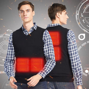 Adjustable Smart Heated Knit Vest with Practical and Fashionable - YIKOBUY