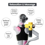 4 In One,Relieving Pain,3 Speed Setting Body Deep Muscle Massager - YIKOBUY