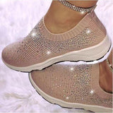 Crystal Sizzle Sneakers - YIKOBUY