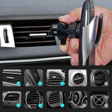 2020 Upgraded Wireless Automatic Sensor Car Phone Holder and Charger - YIKOBUY