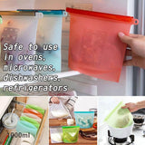 Reusable Silicone Food Bag - YIKOBUY