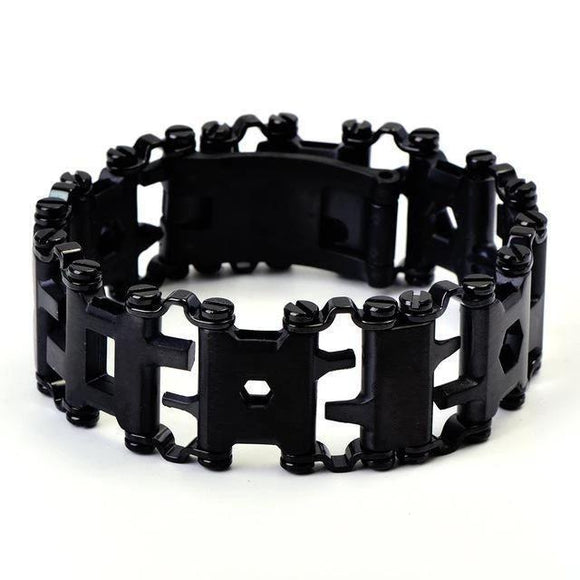 29-IN-1 Stainless Steel multi-functional tools bracelet - YIKOBUY