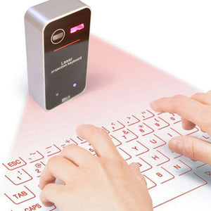 Wireless Laser Keyboard - YIKOBUY