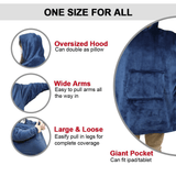 Soft Wearable Blankets With Pockets - YIKOBUY