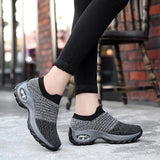 Women's Thick-heels Comfortable Hiking Shoes - YIKOBUY