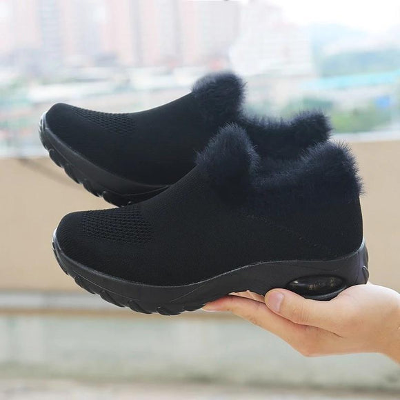 Women's Warm Sneakers for Winter - YIKOBUY