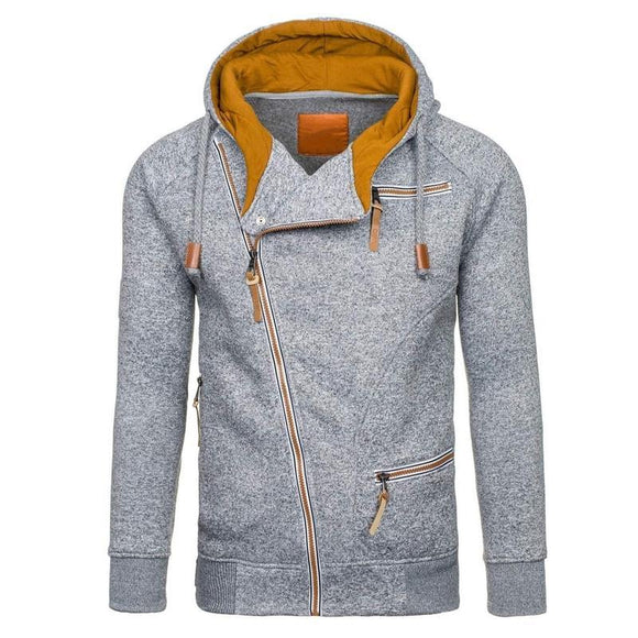Men Long Sleeve Casual Hoodies - YIKOBUY