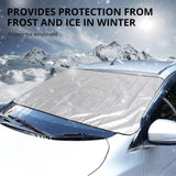 Magnetic Full Protection Windshield Cover - YIKOBUY