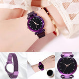 Magnetic Colorful Starry Luxury Women Watch Perfect Gift - YIKOBUY