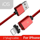 Magnetic Fast Charging USB Cable For iPhone & Android - YIKOBUY