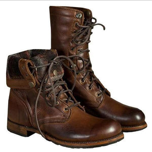Fashion Men Women Boots Shoes Motorcycle Knight Boots - YIKOBUY