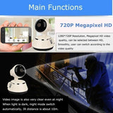Home Wireless Wifi Surveillance Camera - YIKOBUY