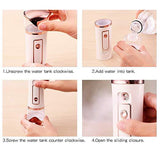 Facial Care Deep Cleansing Nano Spray Steaming Device - YIKOBUY