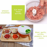 Manual food processor - YIKOBUY