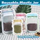 Reusable mason bottle ziplock bag ( 10 pcs ) - YIKOBUY