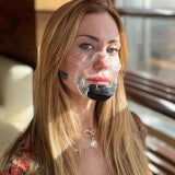 Clear Smart Silicone Reusable Mask 2.0