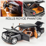 Rolls Royce Phantom Alloy Diecast Car Model - YIKOBUY
