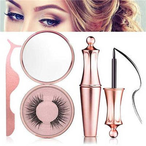 MAGNETIC LINER & LASHES KIT-Eyeliner Magnet Eyelashes - YIKOBUY