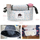 2 in 1 Stroller Organizer Bag Premium Quality Diaper Bag - YIKOBUY
