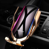 Automatic Clamping Fast Wireless Car Charger - YIKOBUY