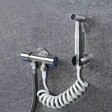 Premium Stainless Steel Hand Held Toilet flusher (Double Valve) - YIKOBUY